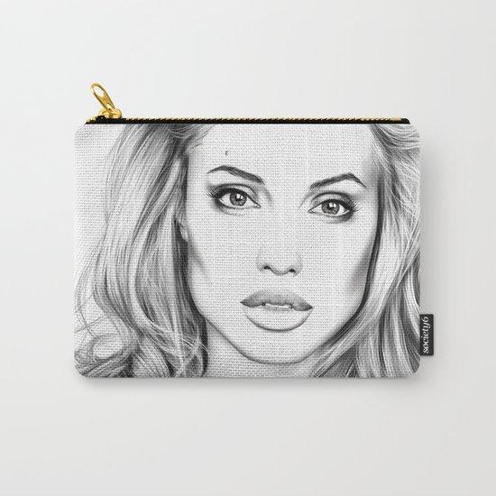Angelina Jolie fanart Carry-All Pouch