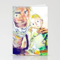 le petit prince Stationery Cards featuring Le Petit Prince by Halina  Jasińska photography