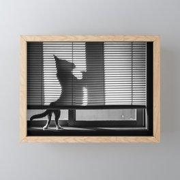Big Cat Framed Mini Art Print