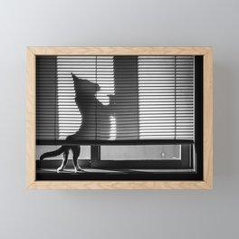 Big Cat Framed Mini Art Print