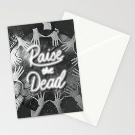 'Raise The Dead' Seance Lettering Stationery Cards
