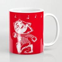 bucky Mugs featuring Steamboat Bucky by Aaron Bowersock
