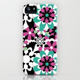Tutti Fiori (pink) iPhone Case
