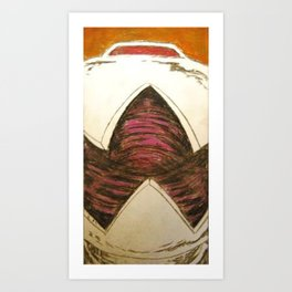 MOUSER  Art Print