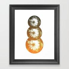 bad orange Framed Art Print