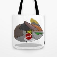 SuperSonic Flying Robot Rabbit 2000 Tote Bag