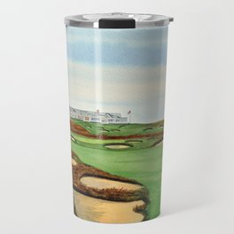 Shinnecock Hills Golf Course With Clubhouse Travel Mug