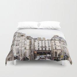 Montmartre View of Paris  Duvet Cover