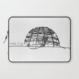 Reichstag Dome, Foster + Partners Laptop Sleeve