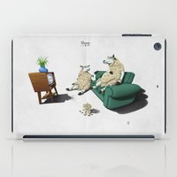 sheep iPad Cases featuring Sheep by rob art | illustration