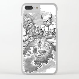 Old Testament: JOB Clear iPhone Case