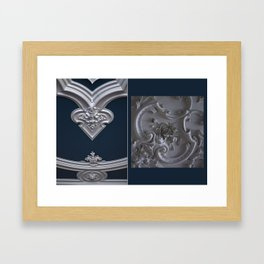 Blue ceiling Framed Art Print