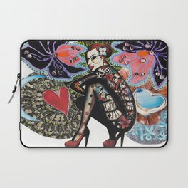Tattoo Girl Laptop Sleeve