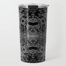 Black Gothic Stars Travel Mug
