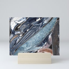 Whales Mini Art Print