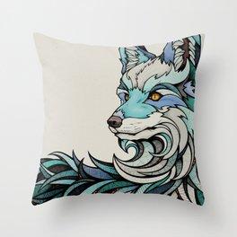 Berlin Fox Throw Pillow