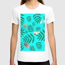 leaf coral T-shirt