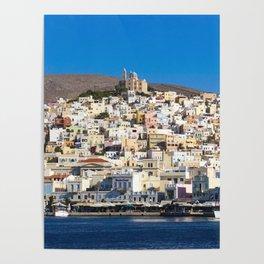 Syros Island Poster