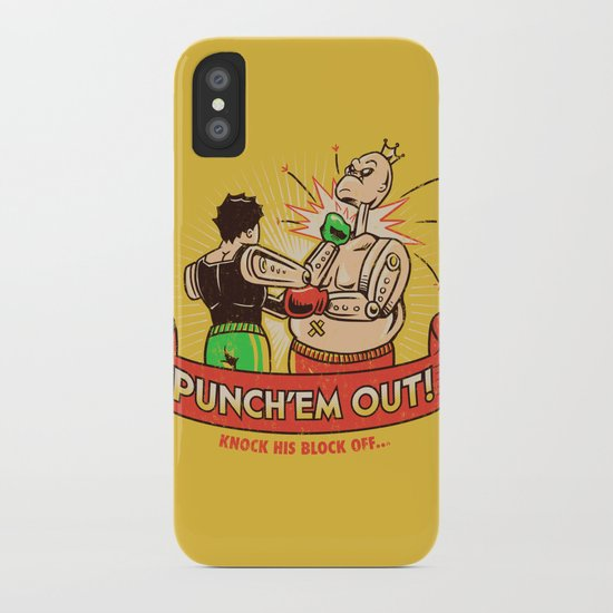 Punch'em Out iPhone Case
