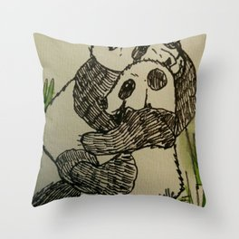 Pandug Throw Pillow
