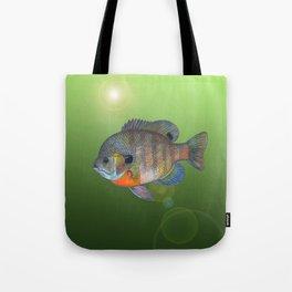 Bluegill Sunfish Tote Bag