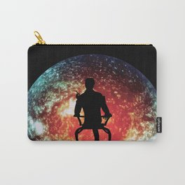 Illusive man ( Mass Effect ) Carry-All Pouch