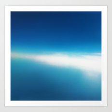 Azure 2 Art Print