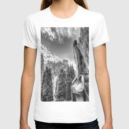 Scots American Memorial And Edinburgh Castle T-shirt