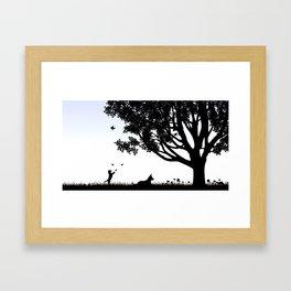 Blacksburg, VA Framed Art Print