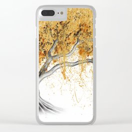 The Golden Tree Clear iPhone Case