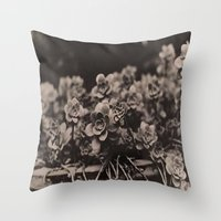 plant Throw Pillows featuring Plant by Patrick Takata