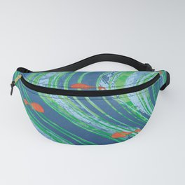Red fishes Fanny Pack