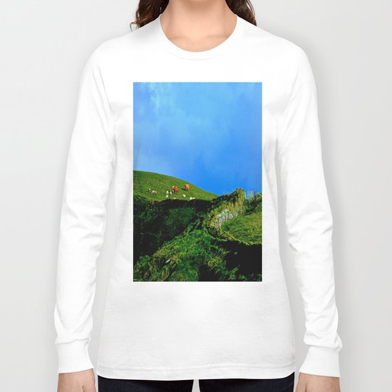 The Rolling Hills of County Clare Long Sleeve T-shirt