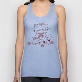 The Adventures of Bear and Baby Bear-Cats Unisex Tank Top
