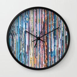 STRIPES 28 Wall Clock