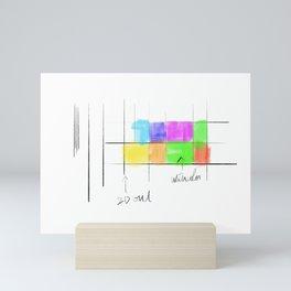 Color Study Mini Art Print