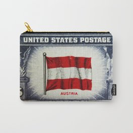 Flag of Austria Carry-All Pouch