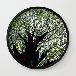 Dreamland Tree Wall Clock