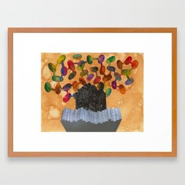 Monolito Framed Art Print