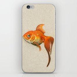 """Goldie"" iPhone Skin"