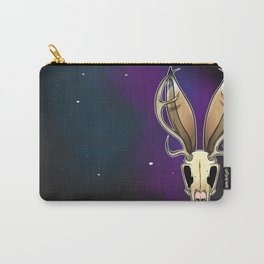 Space Jackalope Carry-All Pouch