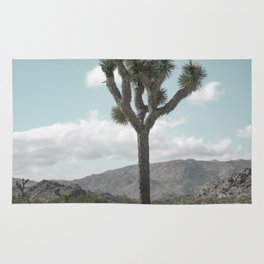 Joshua Tree On A Calm Cool Day Rug