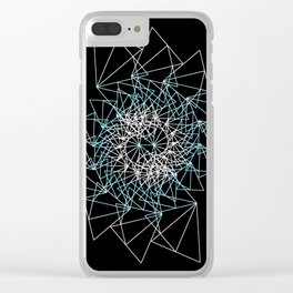UNIVERSE 39 Clear iPhone Case