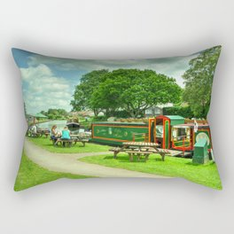 The Ducks Ditty Rectangular Pillow