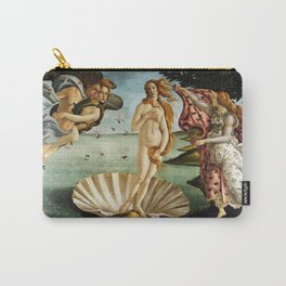 Iconic Sandro Botticelli The Birth of Venus Carry-All Pouch