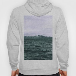 SEA - SNOW - OCEAN - ICE - COLD - COOL - PHOTOGRAPHY Hoody
