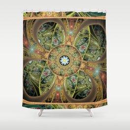 Alien Forest Shower Curtain