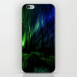 broken frequency iPhone Skin