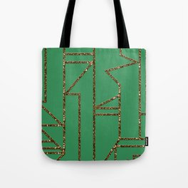 Ladders B (green) Tote Bag