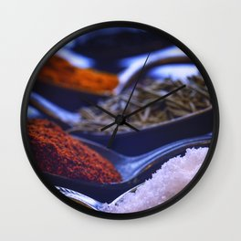 A Spoonful of Spice Wall Clock